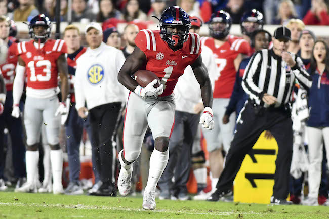 A.J. Brown, Mississippi Rebels (November 22, 2018)