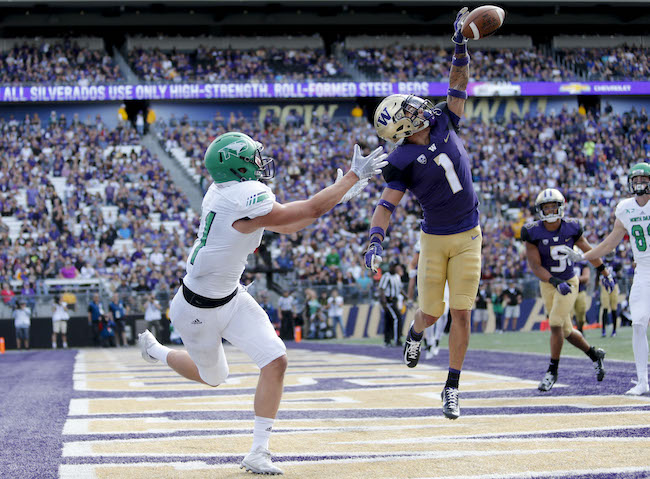 Byron Murphy, Washington Huskies (September 8, 2018)