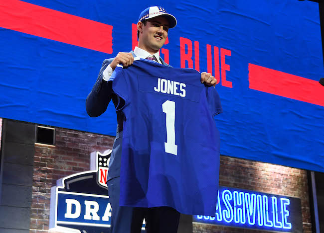 Daniel Jones, New York Giants (April 25, 2019)