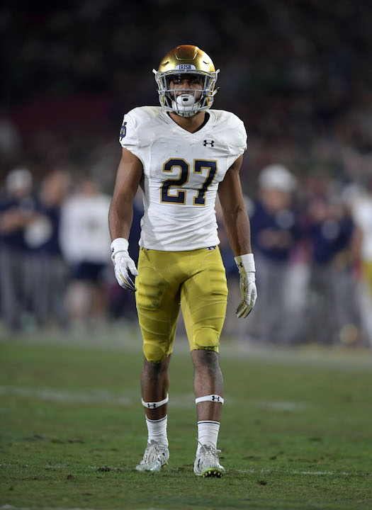 Julian Love, Notre Dame Fighting Irish (November 24, 2018)