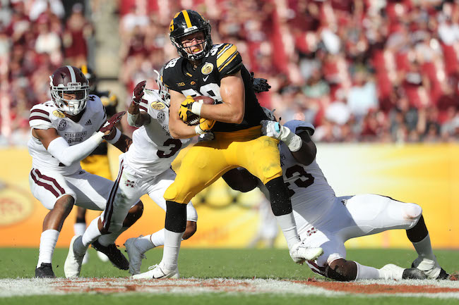 T.J. Hockenson, Iowa Hawkeyes (January 1, 2019)