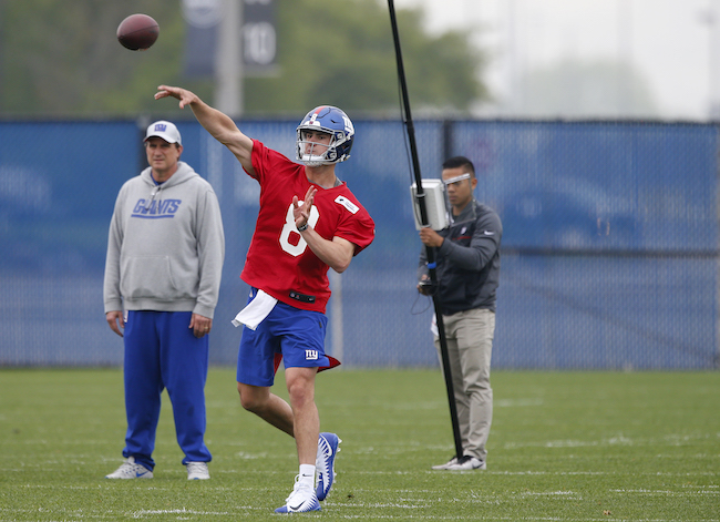 Daniel Jones, New York Giants (May 3, 2019)