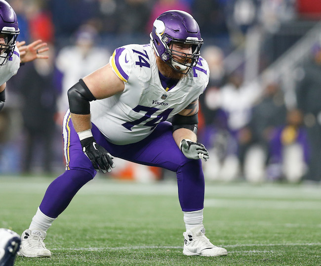 Mike Remmers, Minnesota Vikings (December 2, 2018)