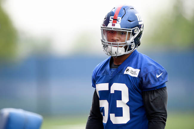 Oshane Ximines, New York Giants (May 4, 2019)