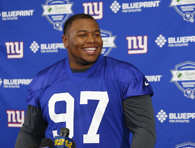 Dexter Lawrence, New York Giants (May 3, 2019)