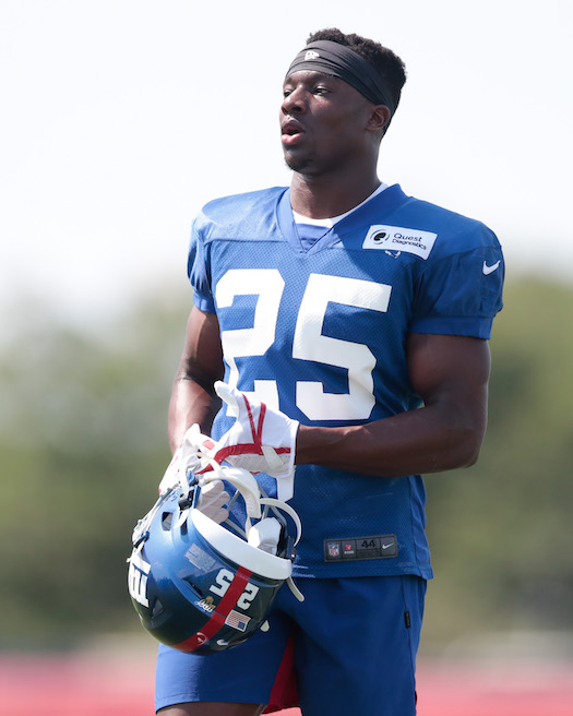 Corey Ballentine, New York Giants (July 25, 2019)