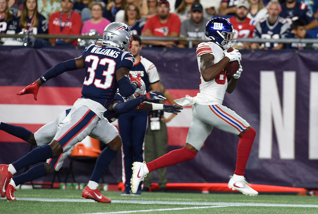 Alonzo Russell, New York Giants (August 29, 2019)