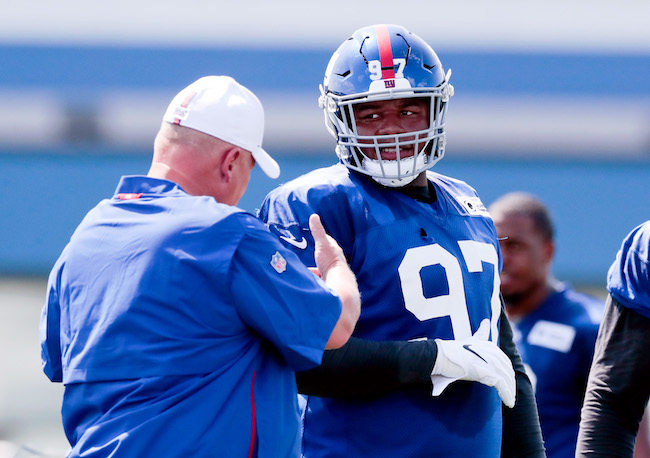 Dexter Lawrence, New York Giants (July 25, 2019)