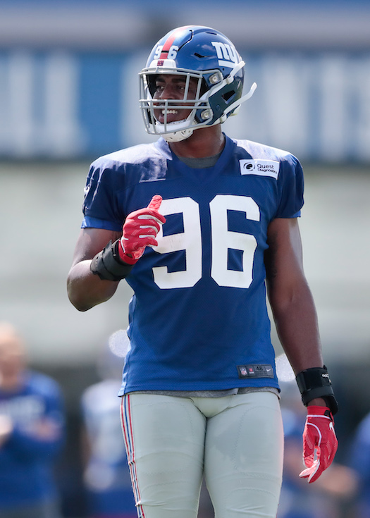 Kareem Martin, New York Giants (July 25, 2019)