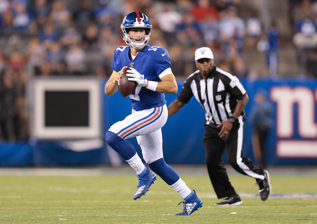 Kyle Lauletta, New York Giants (August 16 2019)