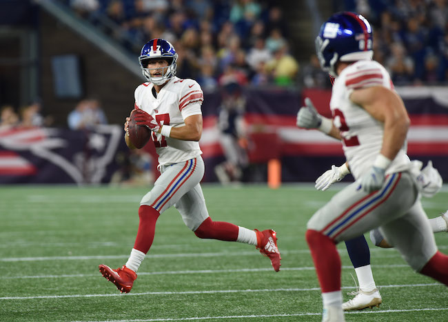 Kyle Lauletta, New York Giants (August 29, 2019)