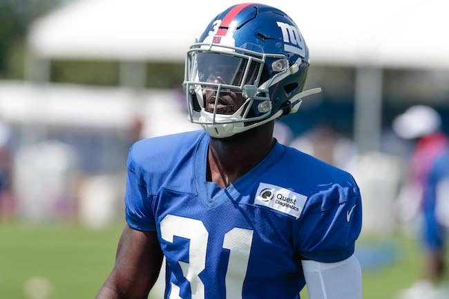 Michael Thomas, New York Giants (July 25, 2019)