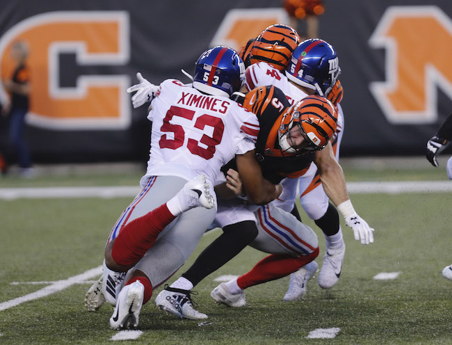 Oshane Ximines, New York Giants (August 22, 2019)