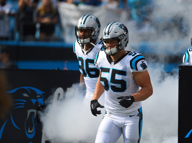 David Mayo, Carolina Panthers (September 9, 2018)