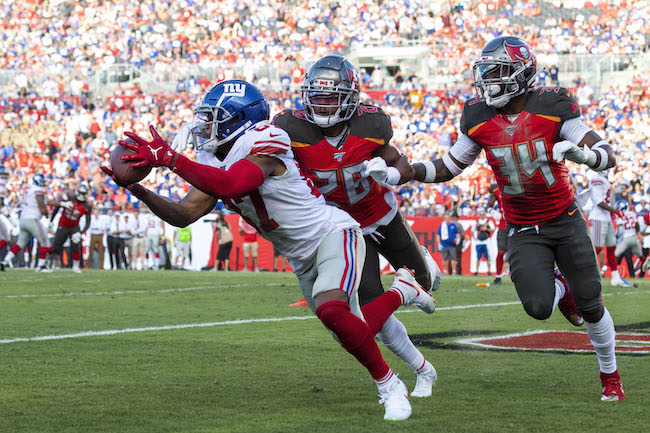 Sterling Shepard, New York Giants (September 22, 2019)