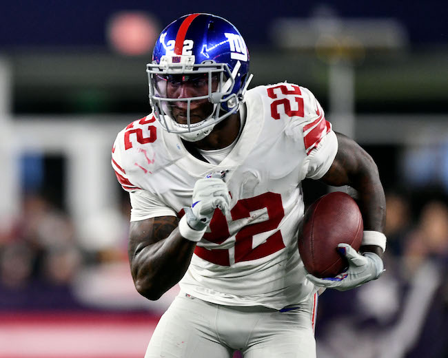 Wayne Gallman, New York Giants (August 29, 2019)