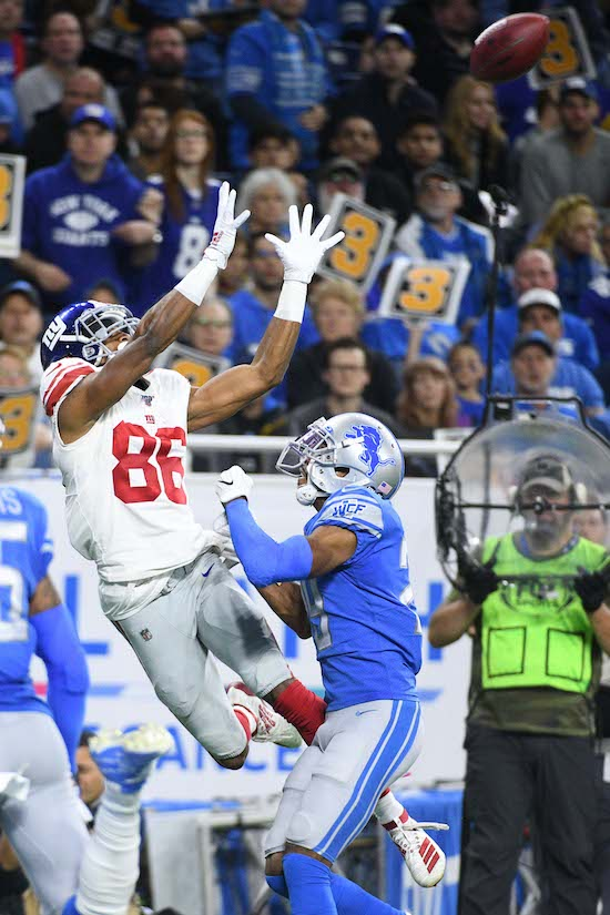 Darius Slayton, New York Giants (October 27, 2019)