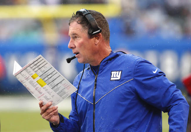 Pat Shurmur, New York Giants (October 20, 2019)