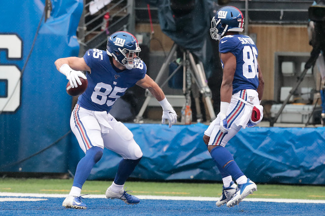 Rhett Ellison, New York Giants (October 20, 2019)