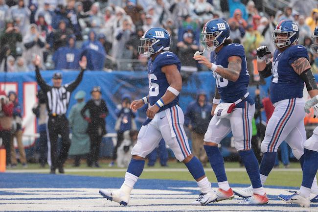 Saquon Barkley, New York Giants (October 20, 2019)