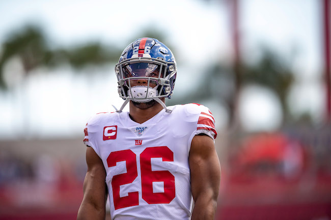 Saquon Barkley, New York Giants (September 22, 2019)