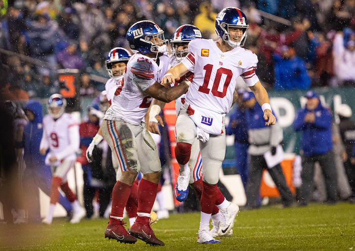 Eli Manning, New York Giants (December 9, 2019)