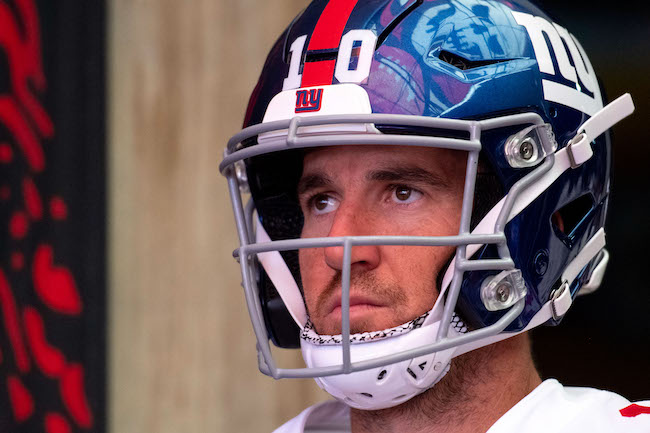 Eli Manning, New York Giants (September 22, 2019)