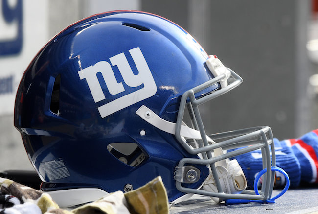 New York Giants Helmet (November 24, 2019)