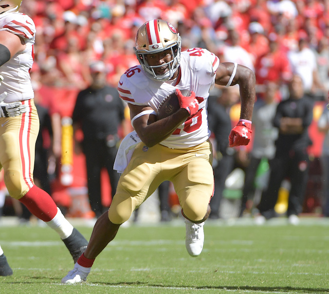 Alfred Morris, San Francisco 49ers (September 23, 2018)