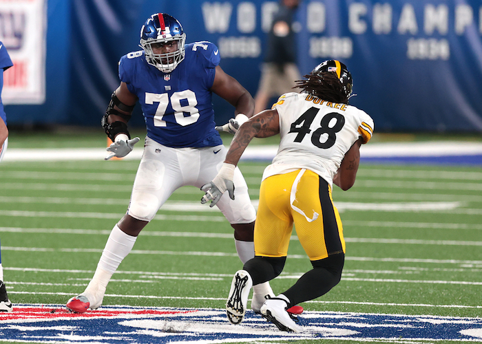 Andrew Thomas, New York Giants (September 14, 2020)