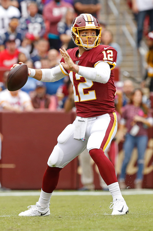 Colt McCoy, Washington Redskins (October 6, 2019)