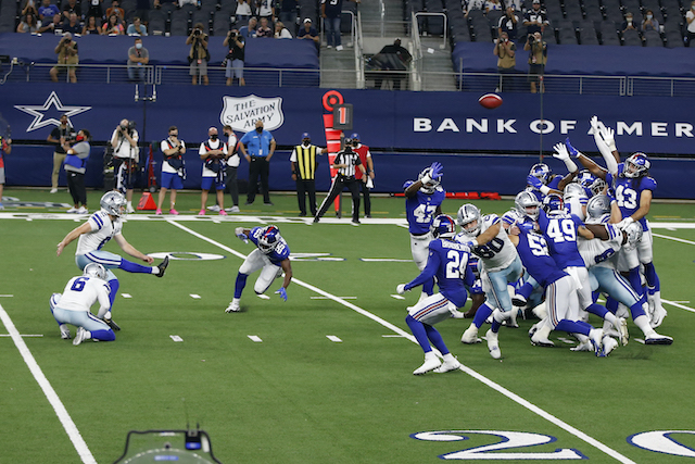 New York Giants at Dallas Cowboys (October 11, 2020)