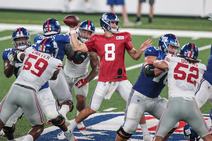 Daniel Jones, New York Giants (August 28, 2020)