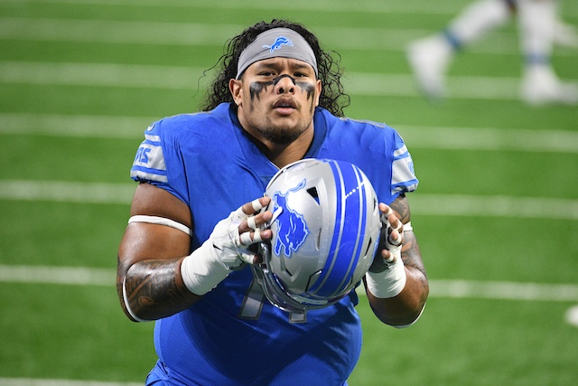 Danny Shelton, Detroit Lions (October 4, 2020)