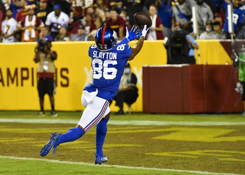 Darius Slayton, New York Giants (September 16, 2021)