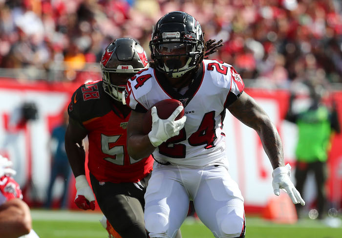 Devonta Freeman, Atlanta Falcons (December 29, 2019)