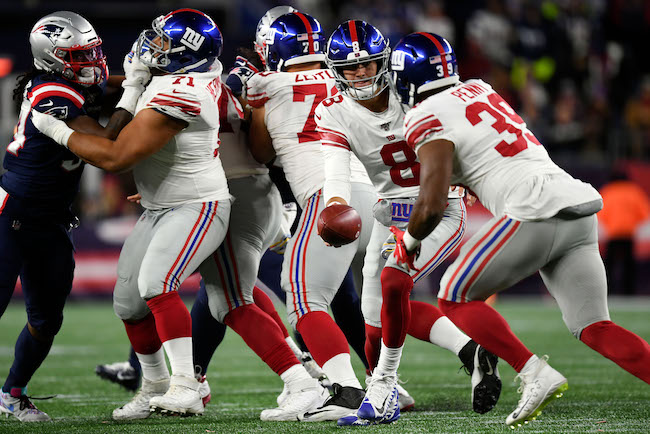 Elijhaa Penny, New York Giants (October 10, 2019)