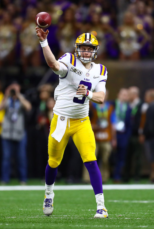 Joe Burrow, LSU Tigers (January 13, 2020)