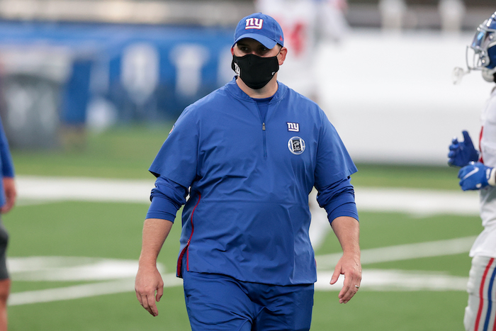 Joe Judge, New York Giants (August 28, 2020)