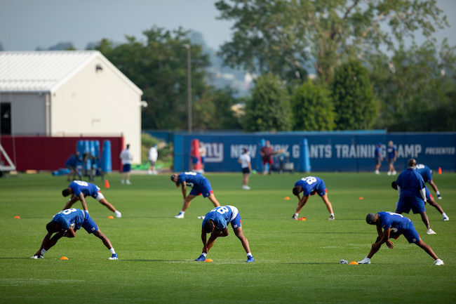 New York Giants Training Camp (August 11, 2020)