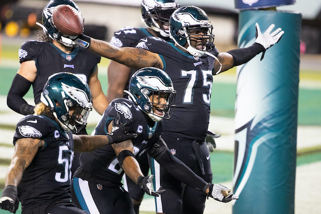 Philadelphia Eagles 22 - New York Giants 21