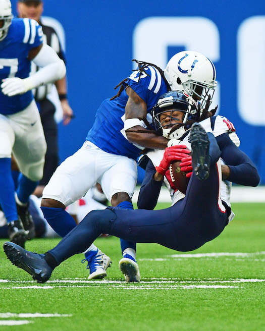 Shakial Taylor, Indianapolis Colts (October 20, 2019)