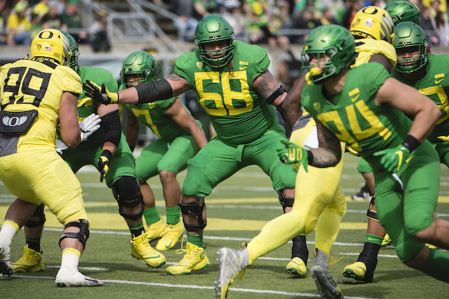 Shane Lemieux, Oregon Ducks (April 20, 2019)
