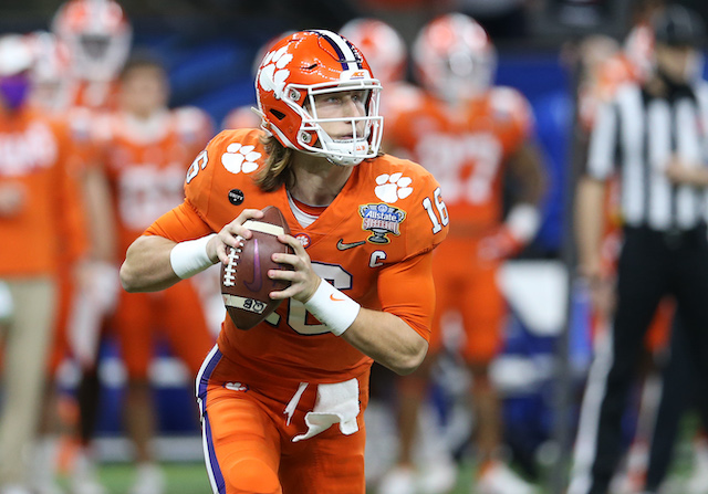 Trevor Lawrence, Clemson Tigers (January 1, 2021)