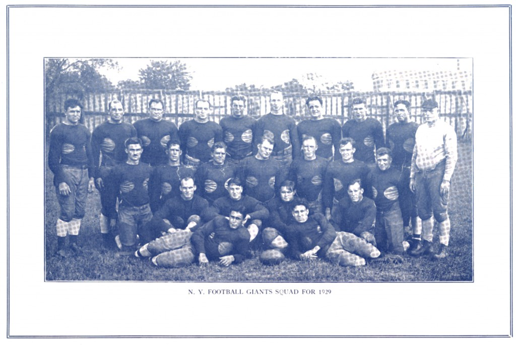 1929 New York Giants