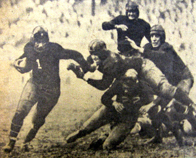 Benny Friedman (1), New York Giants (November 22, 1931)