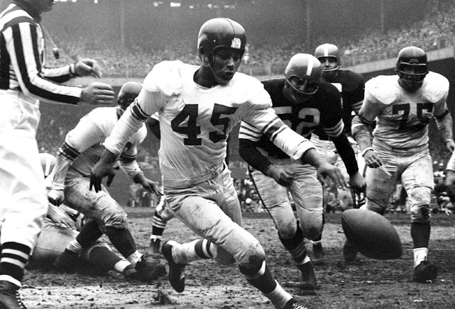 Emlen Tunnell (45), New York Giants (November 28, 1954)