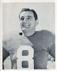 Ben Agajanian, New York Giants (1957)