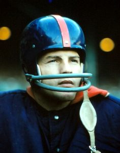 Frank Gifford, New York Giants (November 17, 1957)