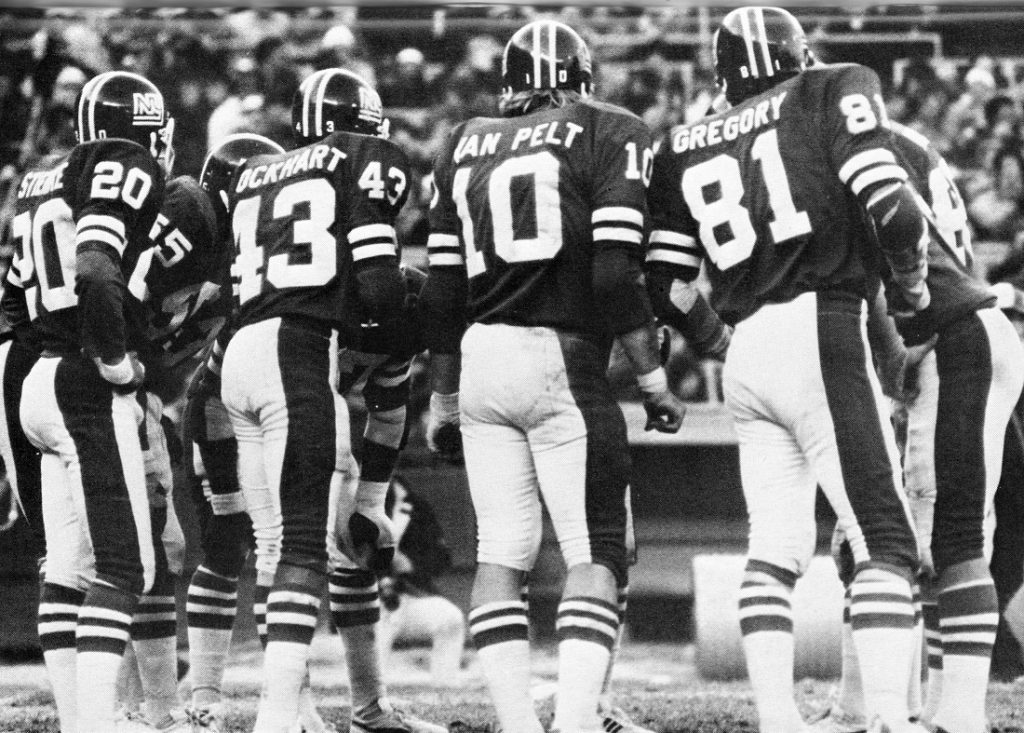 Spider Lockhart, Brad Van Pelt, Jack Gregory; New York Giants (1975)